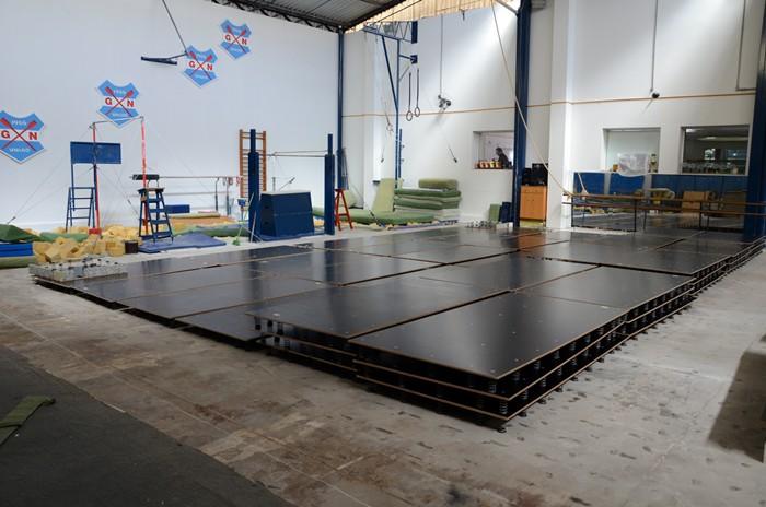 Novo aparelho de solo, de última geração, adquirido pelo Grêmio Náutico União