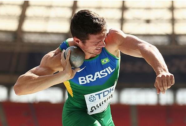 Carlos Chinin quebrou o recorde brasileiro e igualou a marca sul-americana no heptatlo indoor