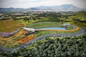 Parque Radical do Rio receberá o Centro Olímpico de BMX, Estádio Olímpico de Canoagem Slalom e pelo Parque Olímpico de Mountain Bike