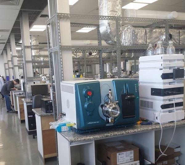 Equipamentos começam a ser instalados no novo prédio do Laboratório Brasileiro de Controle de Dopagem