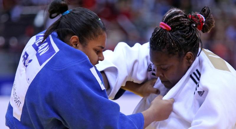 A brasileira Mariua Suelen Altheman não conseguiu superar a cubana Idalys Ortiz na final da categoria acima de 78 kg