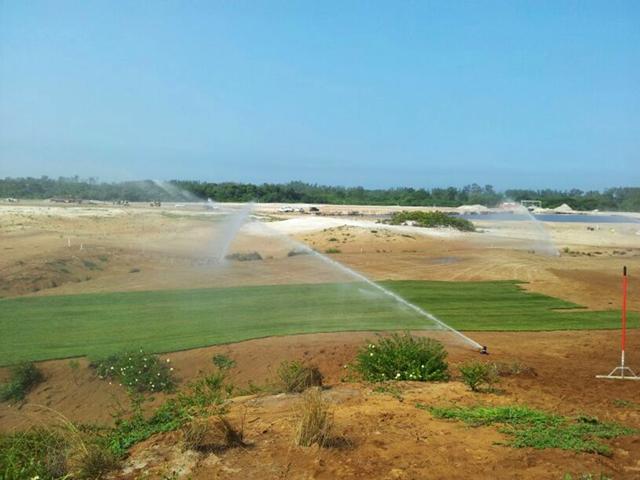 As obras do campo de golfe para os Jogos de 2016 correm o risco de não serem concluídas a tempo