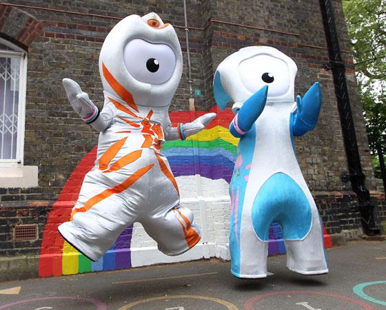 Wenlock e Mandeville, as estranhas mascotes de Londres 2012