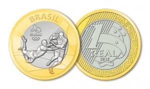 Moedas do RIo 2016 - Rúgbi