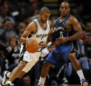 Wizards Spurs Basketball