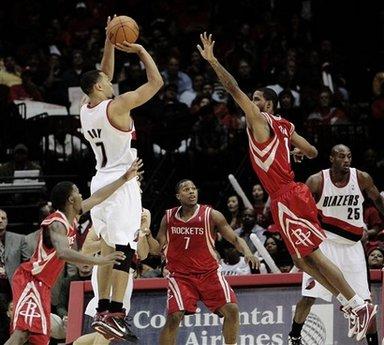 Trail Blazers Rockets Basketball