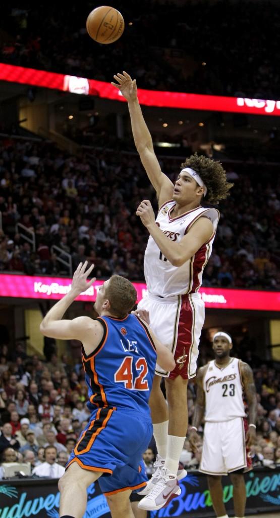 Knicks Cavaliers Basketball