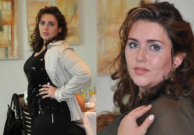 Raquel Correa no seu primeiro trabalho como modelo Plus Size: arrasou ...