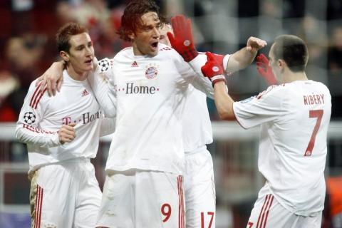 Klose, Toni e Ribery