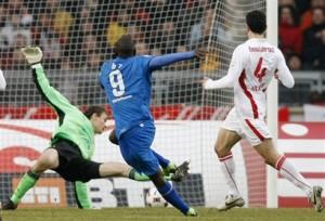 Demba Ba marcou três para o Hoffenheim