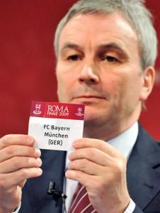 Sorteio ingrato para o Bayern de Munique