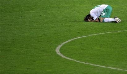 Diego lamenta derrota do Werder