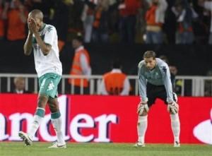 Naldo lamenta segundo gol do Shakhtar