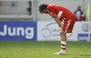 Bayern, de Luca Toni, pode ficar de fora da Liga