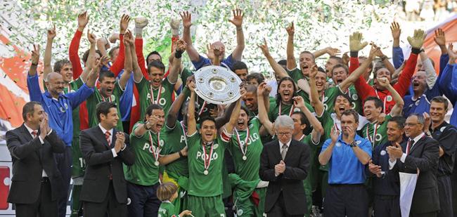 Wolfsburg campeão