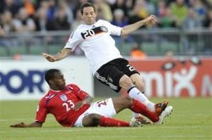 Castro começou como titular e fez o gol alemão