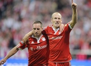 Ribéry e Robben, a dupla Robbery