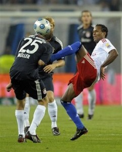 Zé Roberto contra o Bayern
