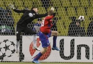 Benaglio não evitou o gol do CSKA