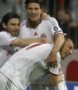 Olic salvou o Bayern de Munique