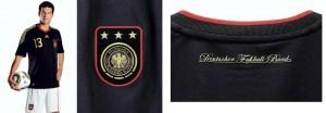 Camisa preta da Alemanha