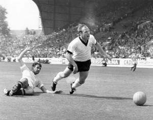Alemanha 4 x 0 Uruguai, em 1966
