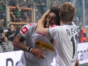 Dante e Marco Reus, do Borussia M'gladbach