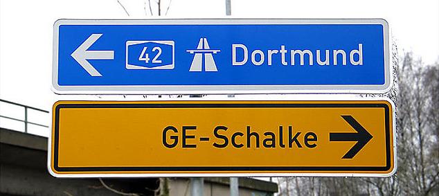 Placa Gelsenkirchen - Dortmund