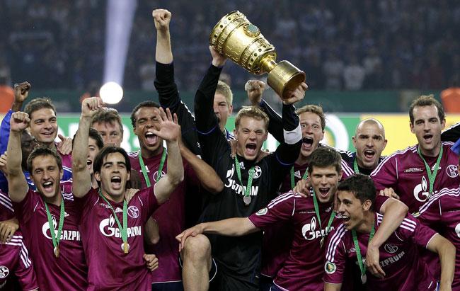 Schalke campeão da Copa da Alemanha