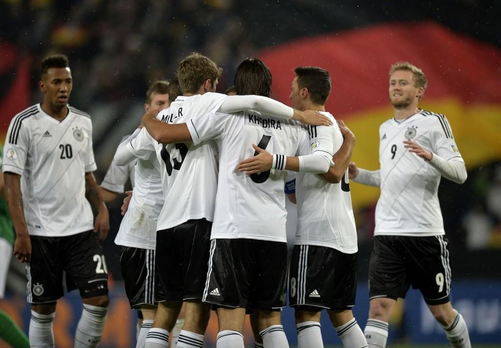 Alemanha bate a Irlanda