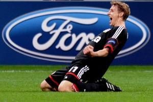 Kiessling marcou duas vezes contra o Shakhtar