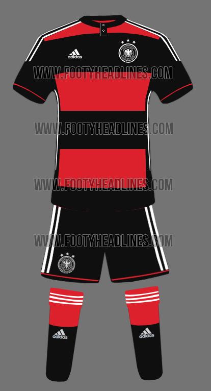 Nova camisa da Alemanha