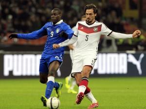 Hummels fez o gol da Alemanha e teve boa atuação contra a Itália