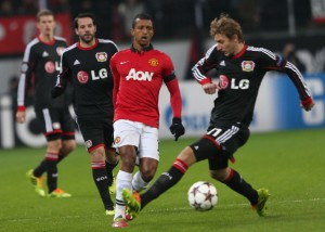 Bayer Leverkusen v Manchester United -- UEFA Champions League