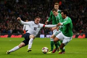 Rooney pouco fez contra o paredão germânico