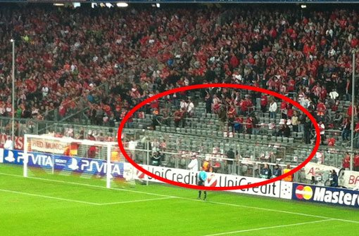 Curva Sul da Allianz Arena