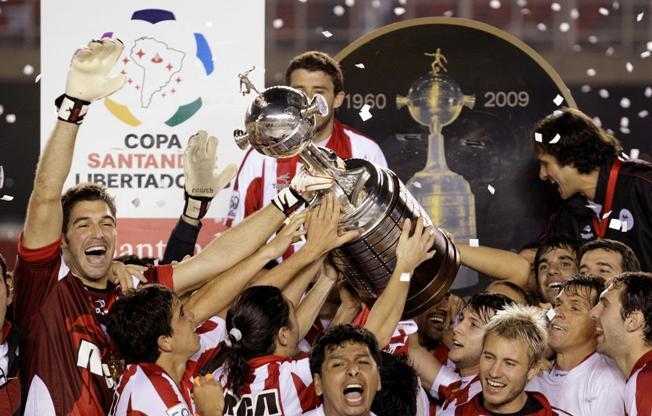 Estudiantes campeão da Libertadores 2009/Reuters