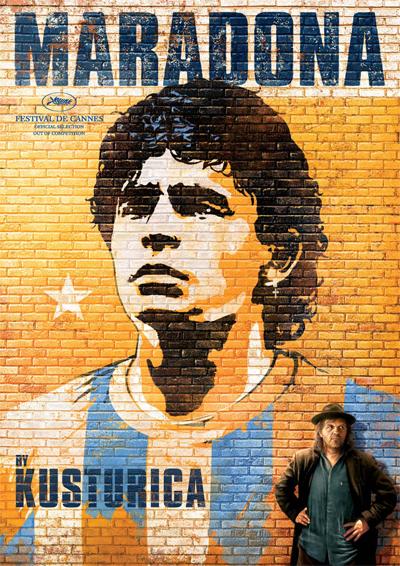 Poster Maradona by Kusturica