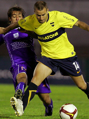 Defensor x Boca Juniors