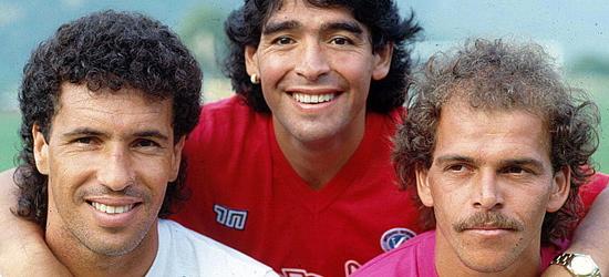 Careca, Maradona e Alemão