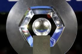 O hexagonal, troféu dado ao campeão da Ligue 1