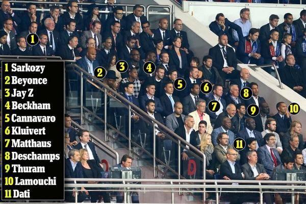 Além dos lances em campo, o pega no Parque chamou a atenção pelos vários VIPs conhecidos nas tribunas do estádio. Não são bobos, né!