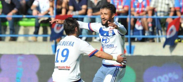 Mathieu Valbuena, grande reforço do Lyon para essa temporada, com Fekir