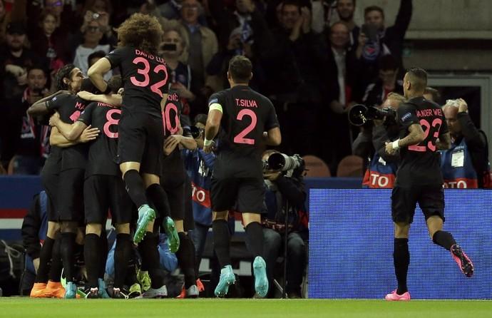 Bonito o uniforme do PSG estreado ontem!
