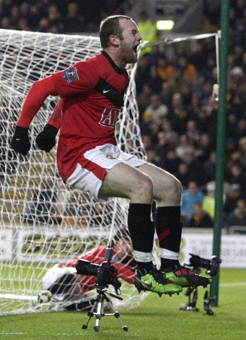 Rooney: onipresente (foto AP)