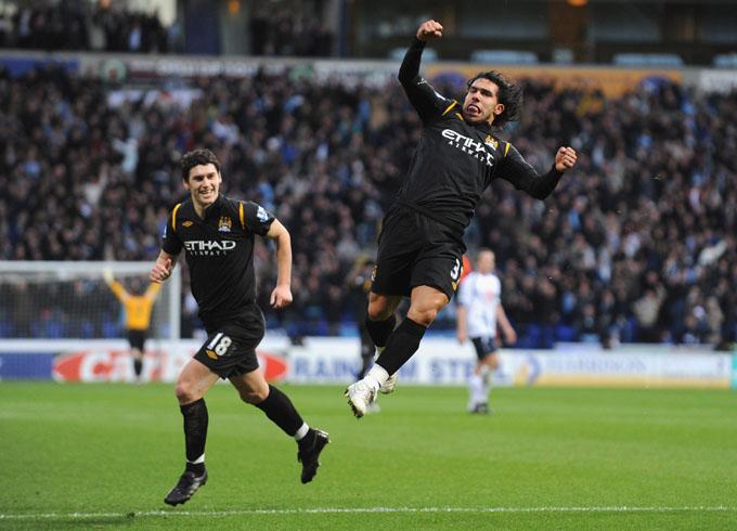 Carlitos comemorou duas vezes (foto Getty Images)