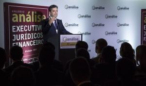 O presidente do TRF-3 falou em evento em SP (Crédito: Marcelo Spatafora/Análise Editorial)