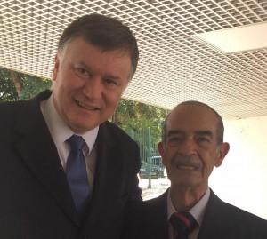 Marcos da Costa, da OAB-SP, e José Horta