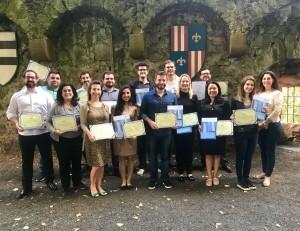 Advogados brasileiros que fizeram curso em Frankfurt