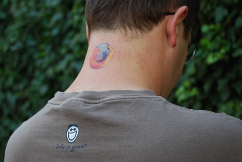 firefox tattoo